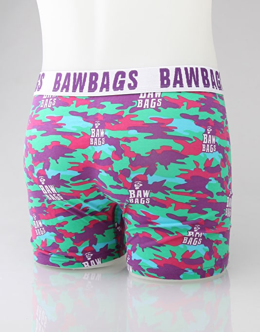 Bawbags Acid Camo Boxer Shorts