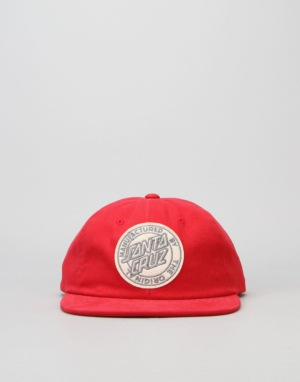 Santa Cruz Origin 6 Panel Cap - Mineral