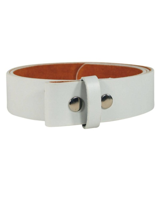 Route One Buckle Belt - White