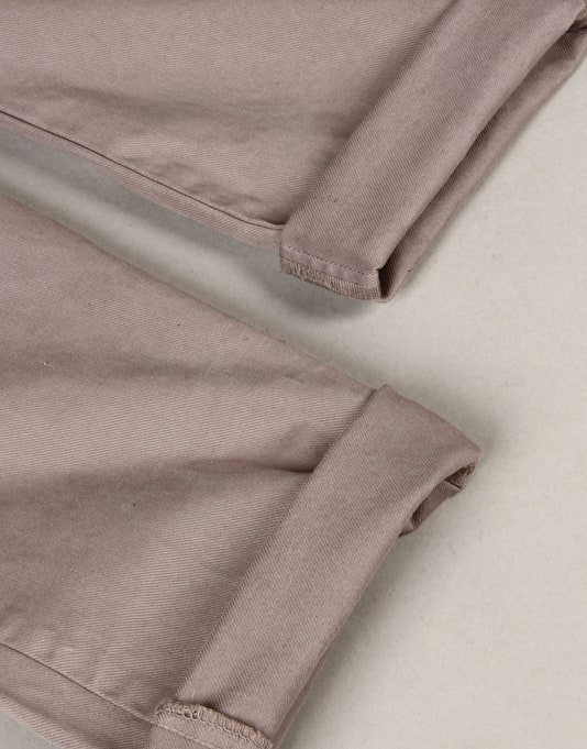 Route One Slim Fit Chinos - Grey