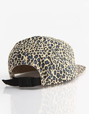 Fourstar Highspeed 5 Panel Cap - Navy Leopard