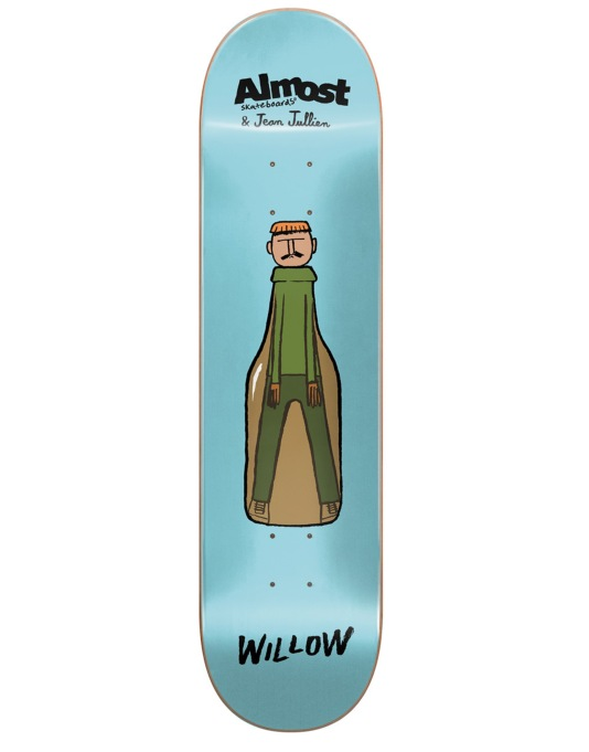 Almost x Jean Jullien Willlow Pro Deck - 7.75""