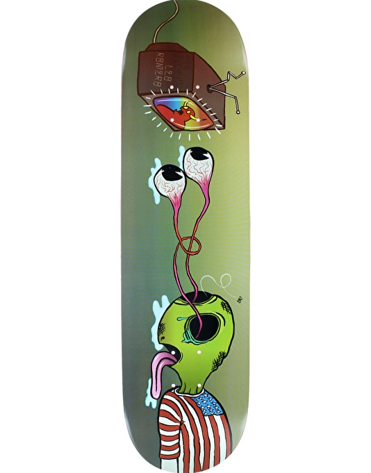 Toy Machine Romero Buggin Out Pro Deck - 8.25""