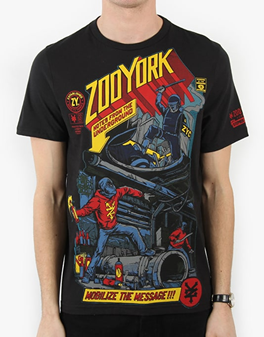 Zoo York Underground Notes T-Shirt