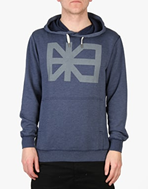 Makia Flag Pullover Hooded Sweatshirt - Blue