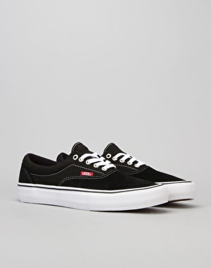 Vans Era Pro Skate Shoes - Black/White/Gum