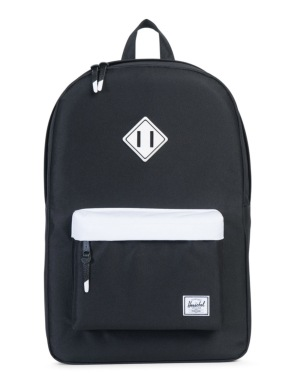 Herschel Supply Co. Heritage Backpack - Black/White
