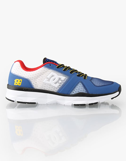 DC x Travis Pastrana Unilite Trainers - Black/Royal Print
