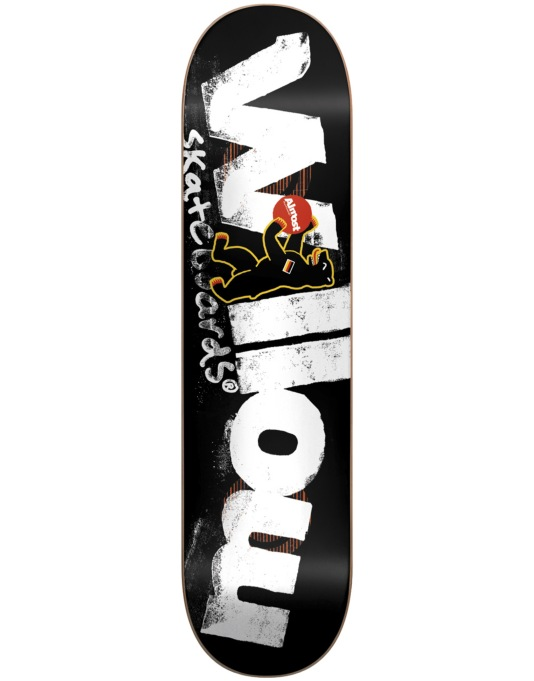 Almost Willow Berlin Bear Double Impact Pro Deck - 8.1""