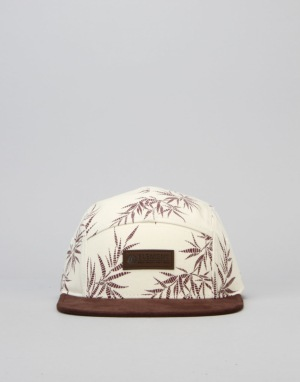 Element Sativa 5 Panel Cap - Bone White