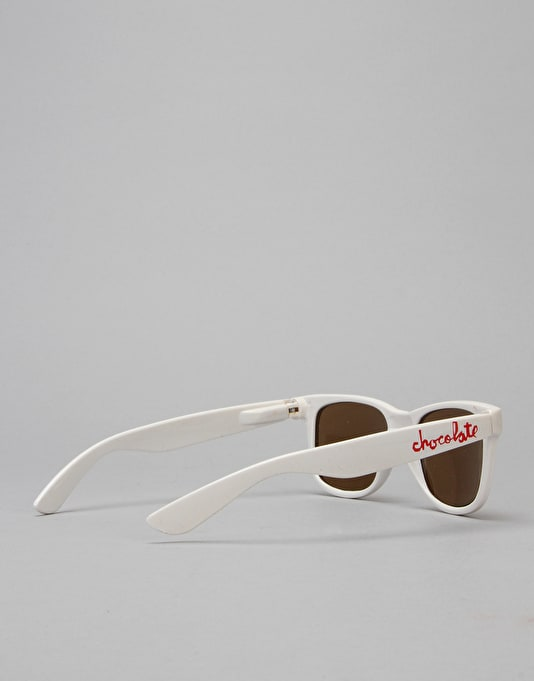 Chocolate Chunk Sunglasses - White
