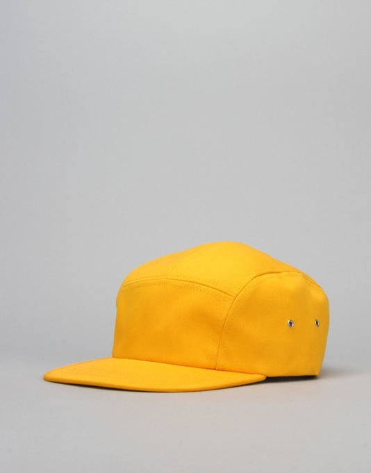 Route One Basics 5 Panel Cap - Yellow
