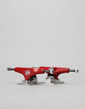 Royal Classic Crown 5.0 Low Team Trucks - Red/Raw