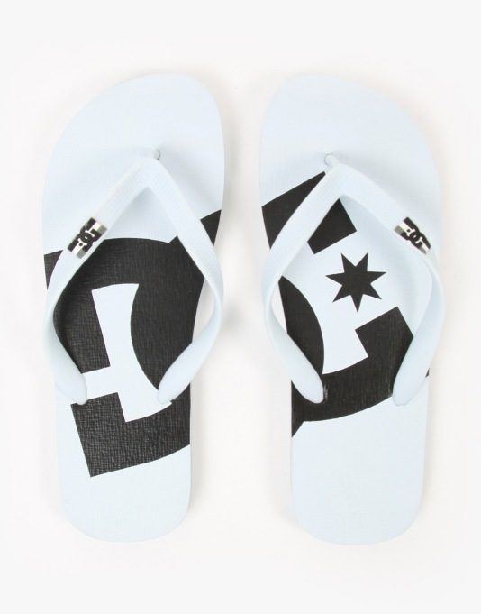DC Spray Graffik Flip Flops