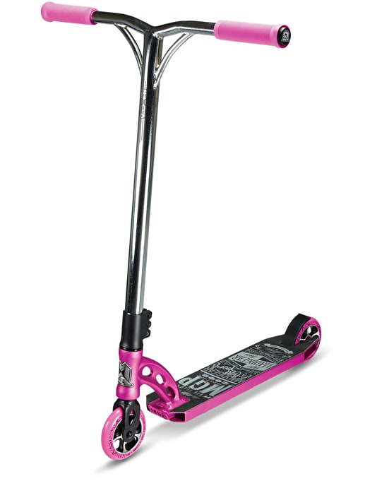 Madd VX6 Team Edition Scooter - Pink/Chrome