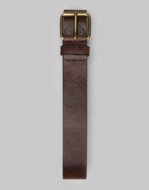 Levis Core Big Leather Belt - Dark Brown