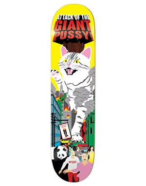 Enjoi Barletta Monster Movie Impact Plus Pro Deck - 8