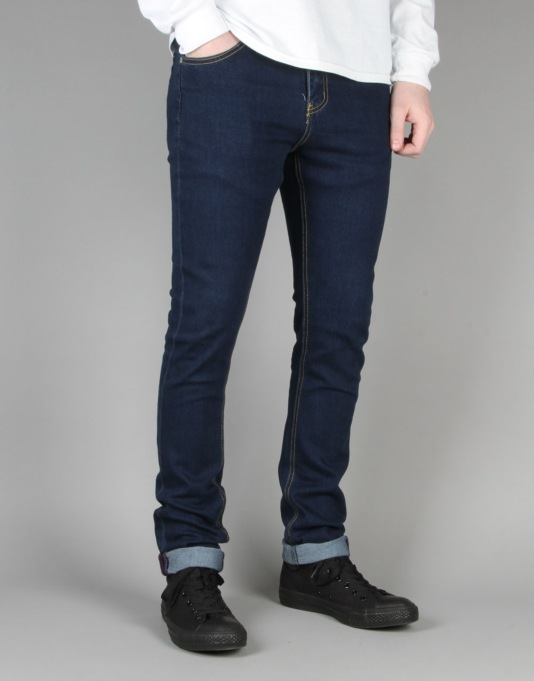 Route One Skinny Denim Jeans - Indigo