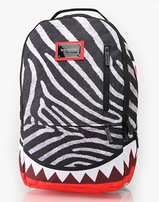 Sprayground Zebra Deluxe Backpack
