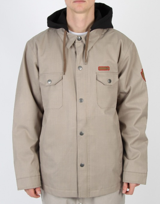 DC Forte 2013 Snowboard Jacket - Alloy