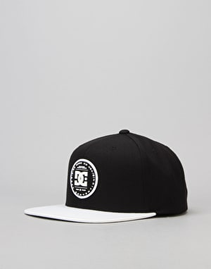 DC Circulate Snapback Cap - Black