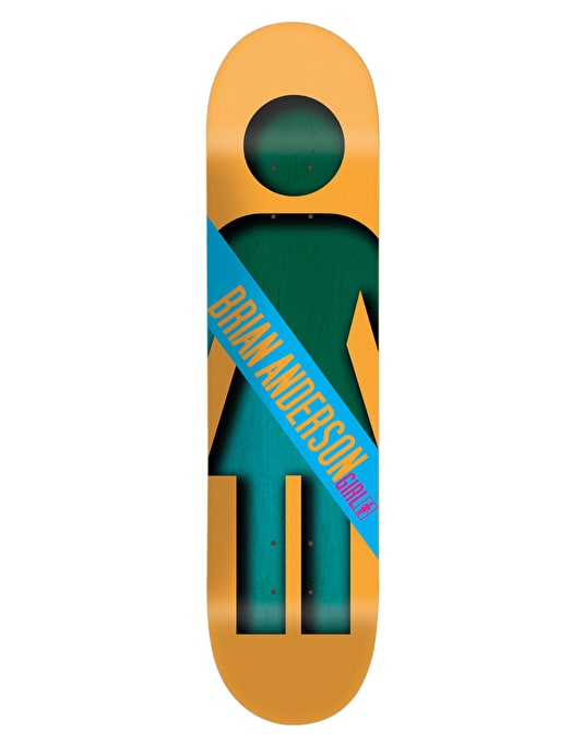 Girl Anderson Half And Half Skateboard Deck - 8.5""
