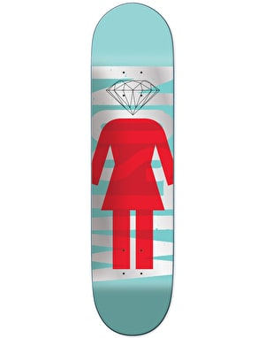 Girl x Diamond Wilson Supply Co. Pro Deck - 8.125