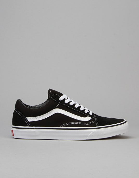 Vans Old Skool Skate Shoes - Black