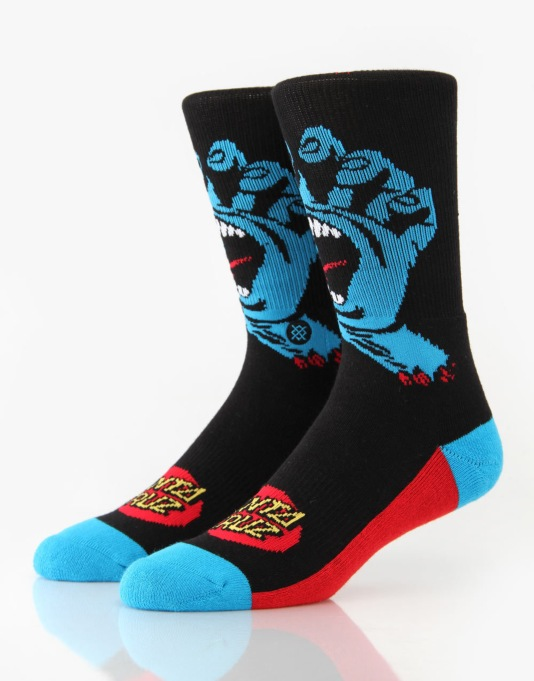 Stance Screaming Hand Artist Series Socks - Black