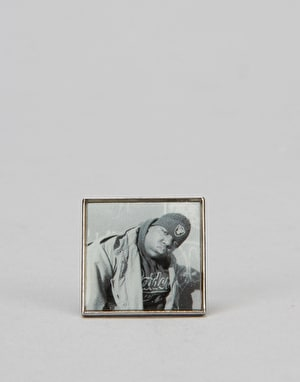 Primitive x Notorious B.I.G. Biggie Raiders Lapel Pin - Multi