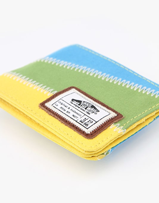 Vans Slasher Canvas Tri-Fold Wallet