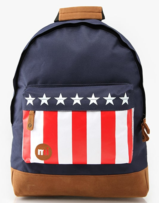 Mi-Pac Flag Backpack - USA