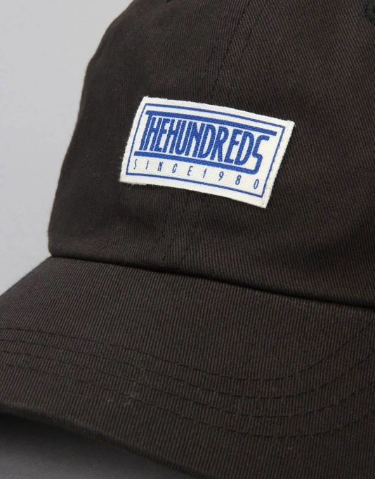 The Hundreds Mills Cap - Black