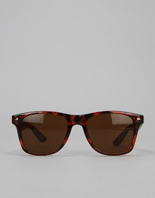 Route One Basics Wayfarer Sunglasses - Tortoise