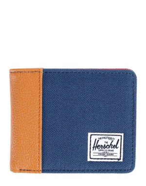 Herschel Supply Co. Edward Wallet - Navy/Tan Pebbled