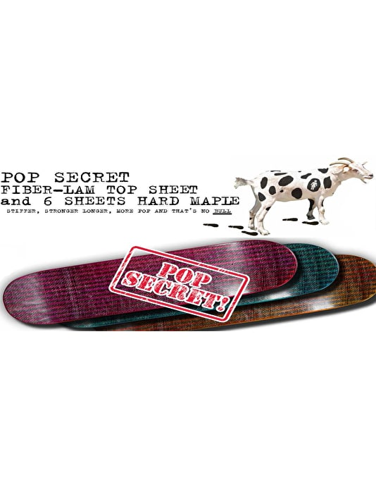 Girl Anderson Pop Secret Pro Deck - 8.5""
