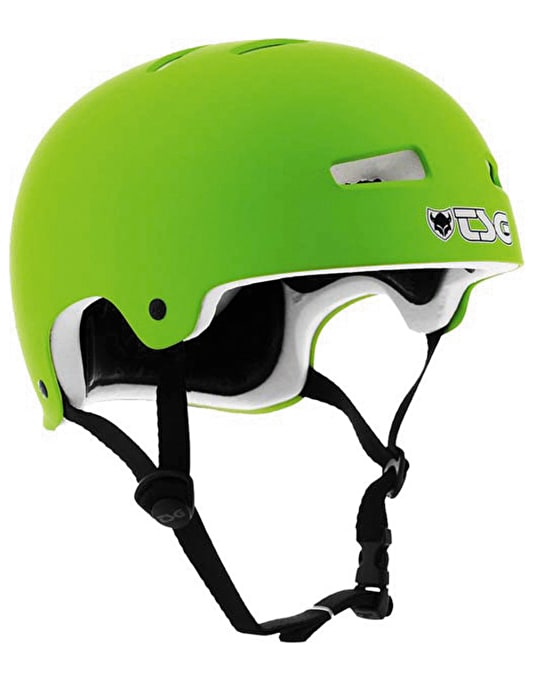 TSG Evolution Helmet - Flat Green