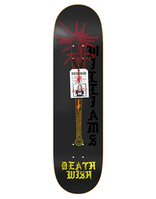 Deathwish Neen Deadly Intent Pro Deck - 8.25""