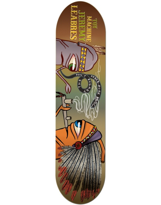 Toy Machine Leabres Peace Pipe Pro Deck - 8.25""