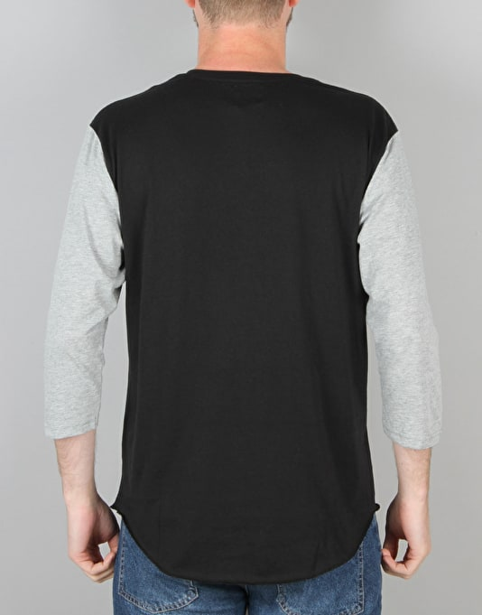DC Basic 3/4 Sleeve T-Shirt - Black