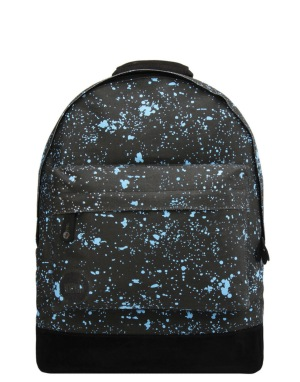 Mi-Pac Splattered Backpack - Blue/Black