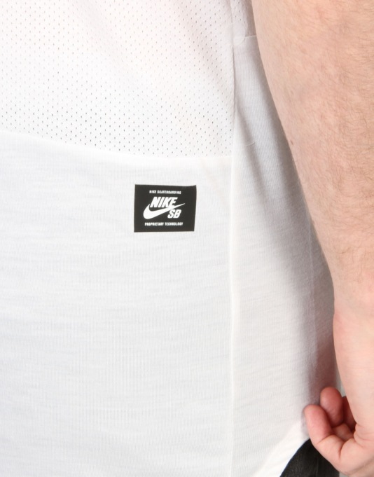 Nike SB Skyline Dri-FIT Cool Top - White/White/White
