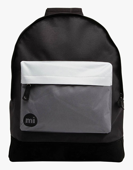 Mi-Pac Tonal Backpack - Black/Charcoal Grey