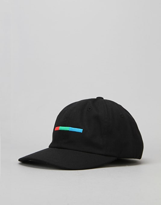 5boro VHS Colour Bar 6 Panel Cap - Black