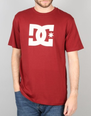 DC Star T-Shirt - Syrah
