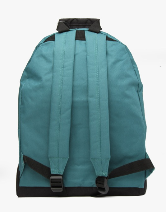 Route One Backpack - Forest Green/Cyan