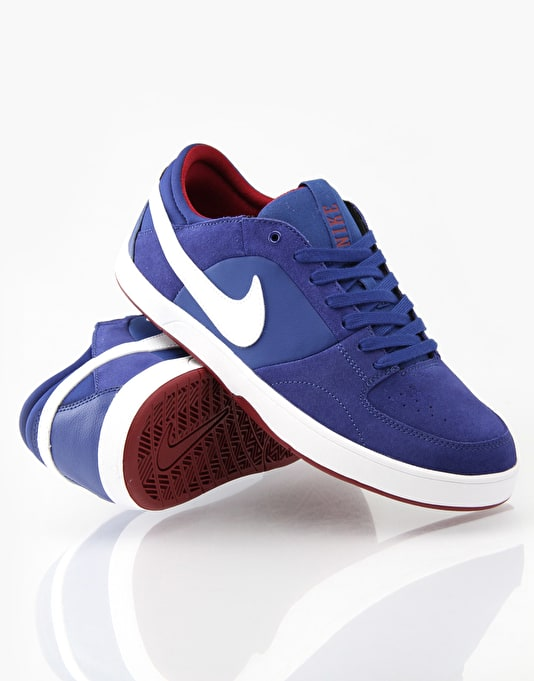 Nike SB Mavrk 3 Skate Shoes - Royal Blue/White/Red