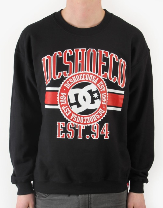 DC RD League Crew Sweatshirt - Black