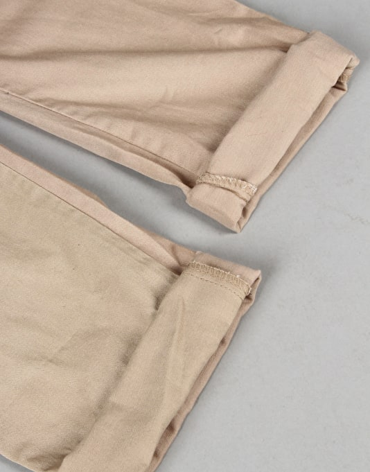 Route One Tapered Fit Chinos - Khaki
