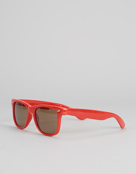 Chocolate Chunk Sunglasses - Red